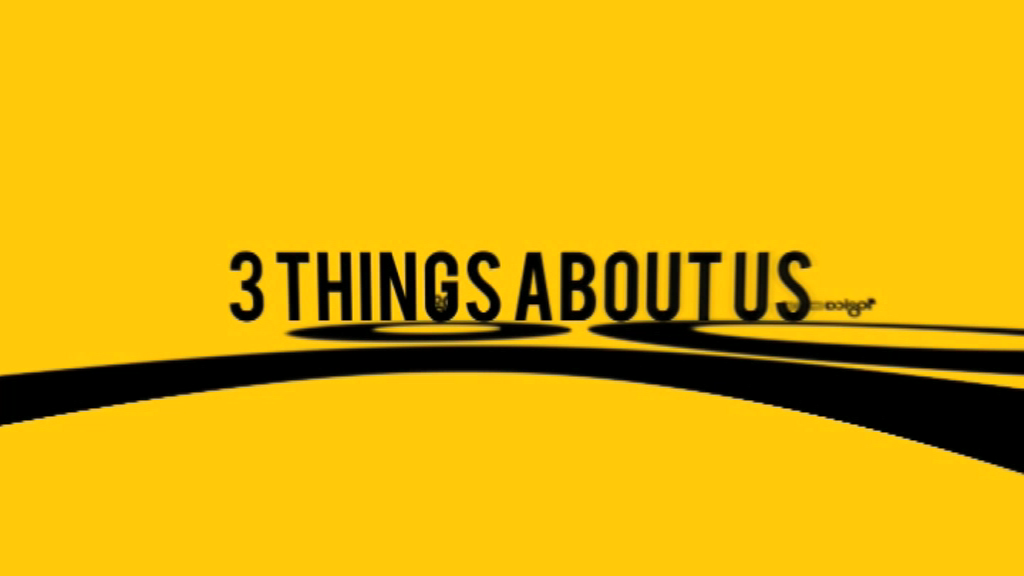 3 things about us